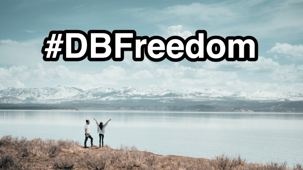 #dbfreedom